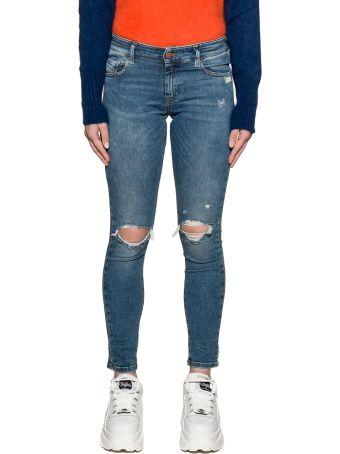 Diesel Light Blue Slandy Low Denim Jeans