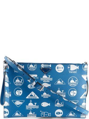 Prada Printed Mini Shoulder Bag