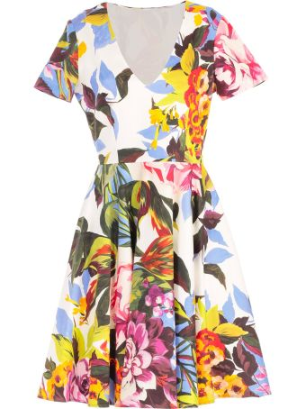 Blugirl Tropical Print Dress