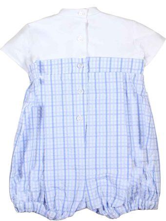 leBebé White And Light Blue Square Baby Cloth Le Bebè