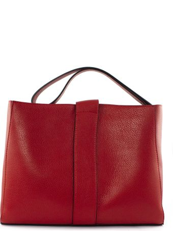 Avenue 67 Annetta Red Leather Bag