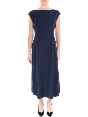 Theory Boatneck Tulip Dress