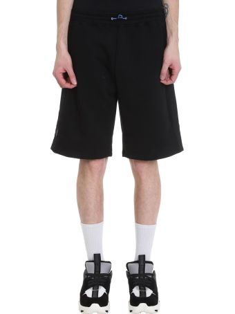 Ben Taverniti Unravel Project Basket Black Cotton Shorts