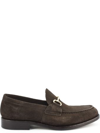 Green George Brown Suede Loafer