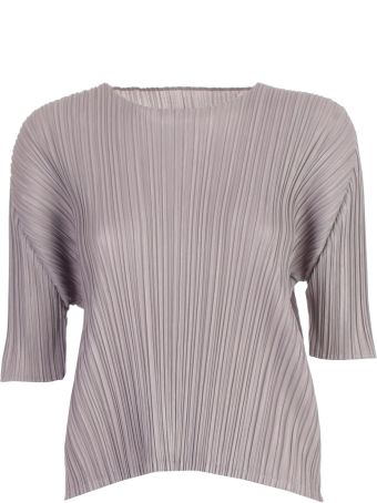 Pleats Please Issey Miyake Pleats Please By Issey Miyake Pleated Top