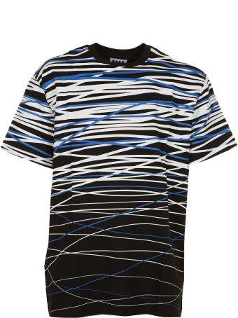 Les Hommes Urban Degrade Print T-shirt