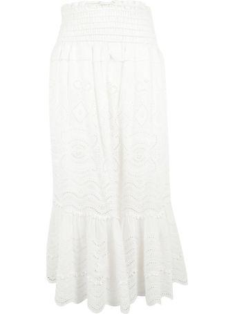 Sea High-waist Long Skirt