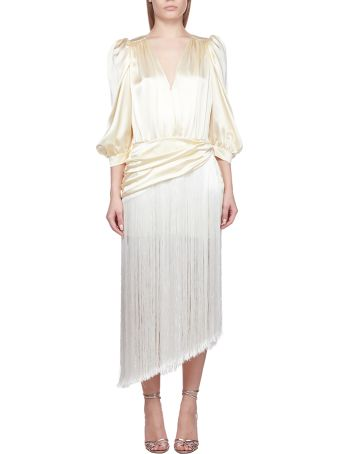 Magda Butrym Draped Tassel Dress