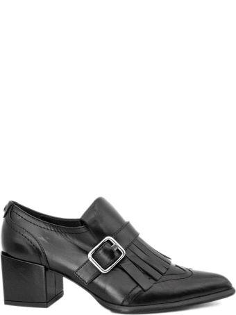 Roberto Festa Daria Shoes In Black Leather.