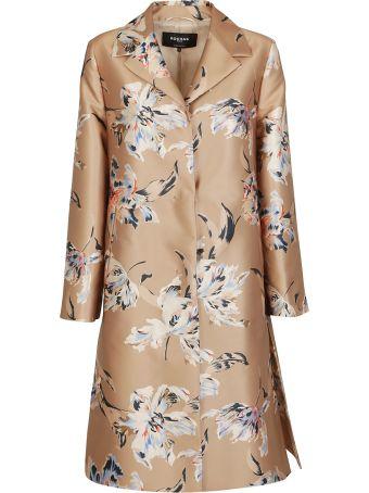 Rochas Floral Print Coat