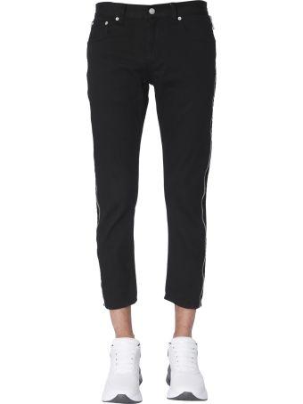 Alexander McQueen Jeans With Side Zips
