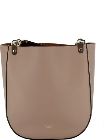 Avenue 67 Cipria Leather Handbag