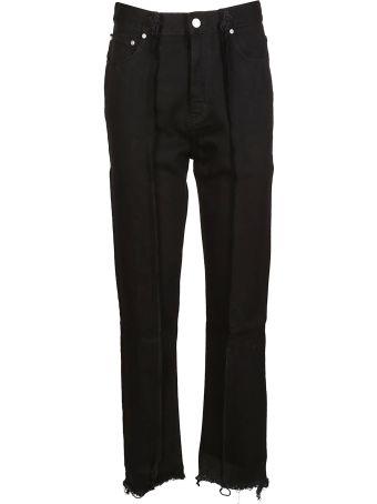 Rokh Rib Detail Straight Trousers