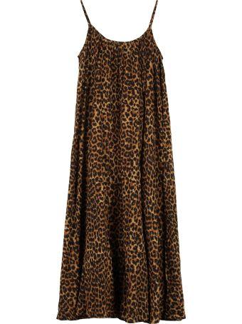 Mes Demoiselles Fetiche Leopard Print Cotton Dress