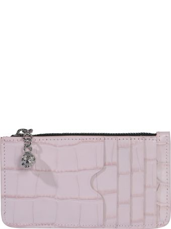 Alexander McQueen Card Holder With Zip