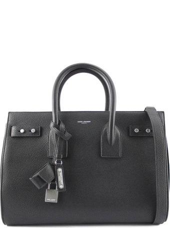 Saint Laurent Classic Sac De Jour Black Soft Grained Leather