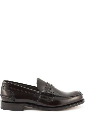 Church's Tunbridge Bookbinder Fumè Loafer Ebony
