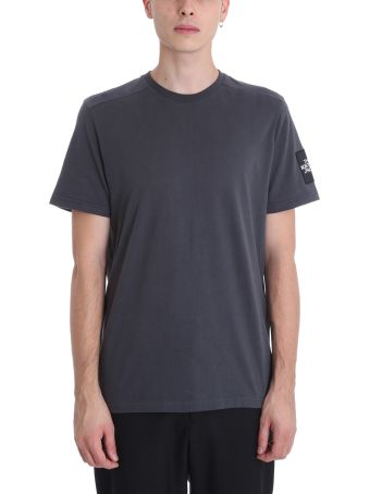 The North Face Grey Cotton T-shirt