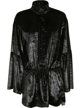 REDEMPTION Tie-waist Mini Dress