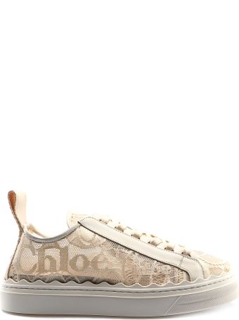 Chloé Perforated Sneakers