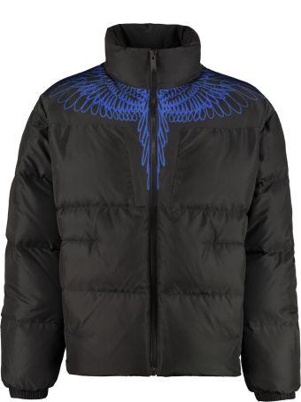 Marcelo Burlon Full Zip Padded Jacket