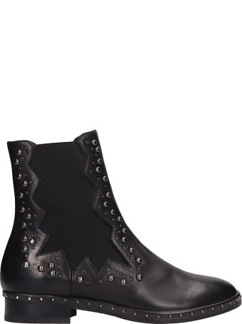 Marc Ellis Black Leather Beatles Boots