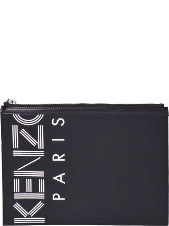 Kenzo Logo Print Clutch