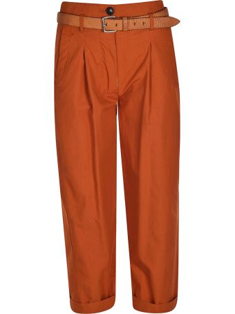 Tela Belted Cropped Trousers