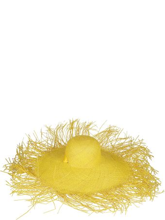Sensi Studio Yellow Straw Hat