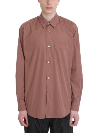 Our Legacy Intial Pink Cotton Shirt