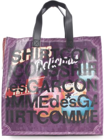Comme des Garçons Shirt Shopping Bag W/written
