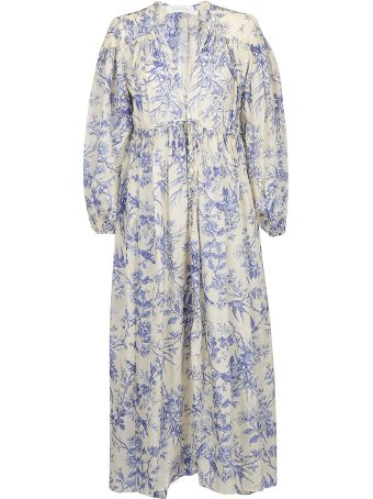 Zimmermann Verity Gathered Yoke Dress