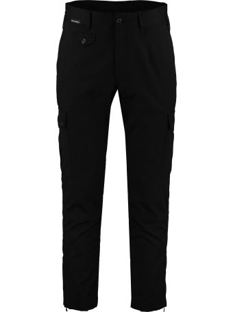 Dolce & Gabbana Stretch Cotton Cargo Trousers