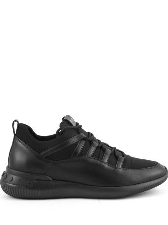 Tod's Shoeker No_code_01 In Leather And Scuba Fabric