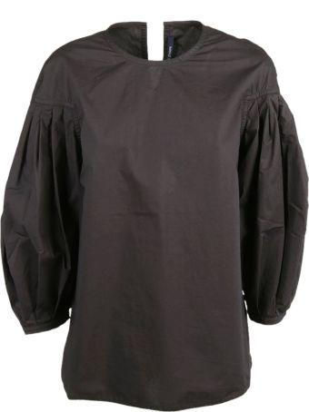 Sofie d'Hoore Pleated Sleeves Top
