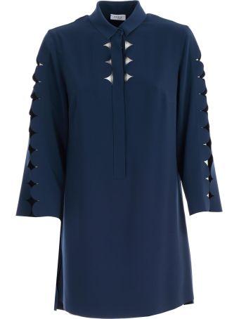 Akris Punto Cut-out Blouse