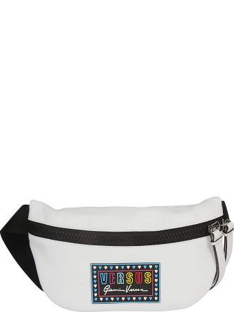 Versus Versace Logo Patch Belt Bag