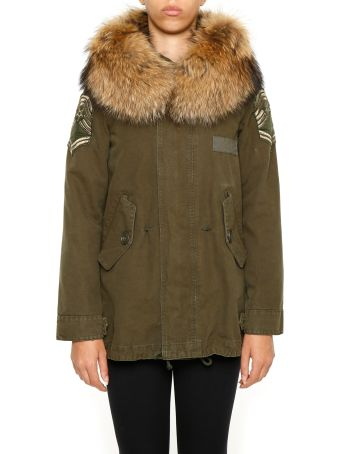 History Repeats Parka With Fur