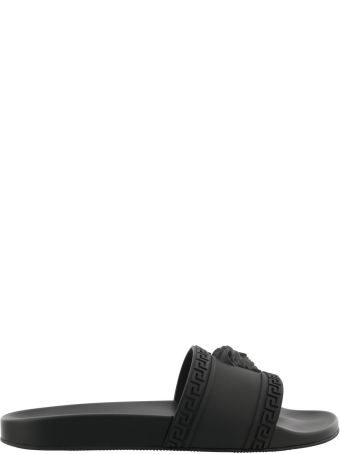 Versace Medusa Flat Sandals