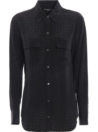 Equipment Sparkle Print Shirt