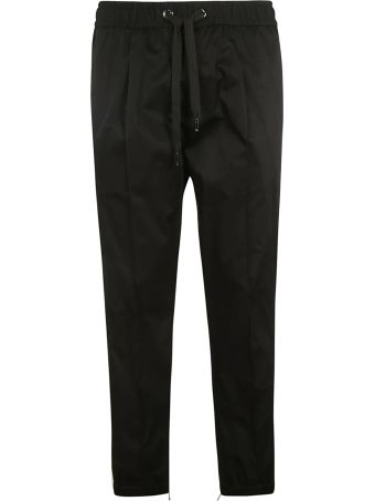 Dolce & Gabbana Stretched Side Logo Trousers