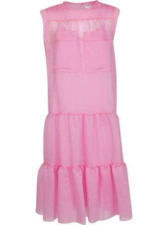 See by Chloé Voile Tiered Dress
