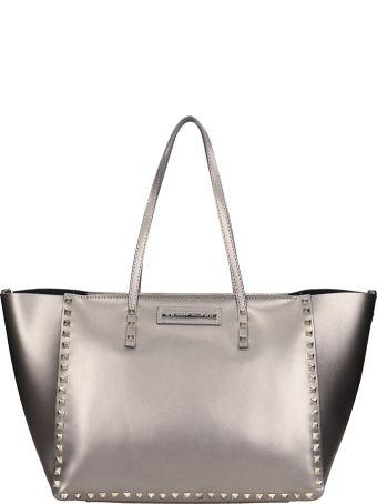 Marc Ellis Silver Leather Chrissy Bag