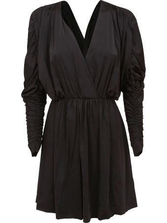 Fisico - Cristina Ferrari Fisico Mini V-neck Dress