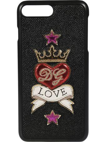 Dolce & Gabbana Love Patch Iphone 7 Plus Case