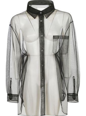 Maison Margiela See-through Oversized Shirt
