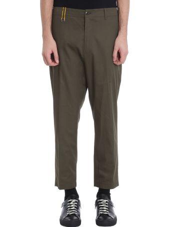 OAMC Green Cotton Pants