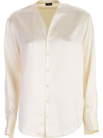 Joseph V-neck Blouse