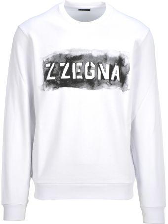Z Zegna Z-zegna Crewneck Logo
