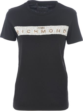 Richmond Sequined Logo T-shirt
